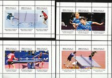 TABLE TENNIS - 16 SHEETS FULL SET  private issue LIMITED EDITION!!