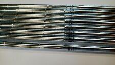 """8 X True Temper Steel Iron Shafts Uniflex 41"""" NEW UNCUT  0.370 /S219"""