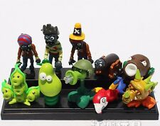 10pcs Plants vs Zombies 2 Action Figures Kid Toy Cake Topper Set Xmas Gift #L