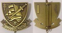 insigne de béret COMMANDOS MARINE / FORCES SPÉCIALES de la MARINE NATIONALE