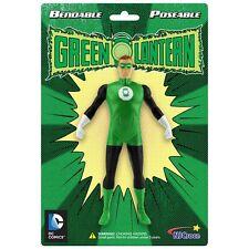 GREEN LANTERN Bendable Posable Super Hero TV DC Comics toy Action figure BENDY