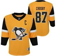 NHL Alternate 3rd Pittsburgh Penguins #87 Hockey Jersey New Youth Size MSRP $100