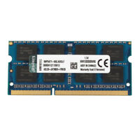For Kingston 8GB 2RX8 PC3-10600S DDR3 1333MHz 204pin Laptop Memory SO-DIMM RAM