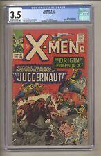 X-Men 12 (CGC 3.5) OW/W Pages; 1st app Juggernaut! 1965 Marvel Comics (j# 259)