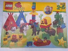 Sehr seltenes Lego Duplo Indianer Dorf ( Nr. 2438 ) -  RARITÄT!
