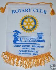 Varzea Grande Airport Mato Grosso Brazil Rotary International Club Banner Flag