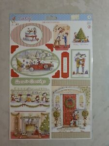 Die Cut Toppers, Tulip Christmas theme