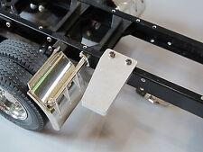 Tamiya RC 1/14 Semi Truck Custom Aluminum Mount Frame Rail side step cover Plate