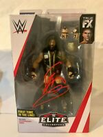 WWE NXT Eric Young Autographed Mattel Elite 65 Wrestling Figure Wrestlemania WWF