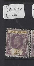 LEEWARD ISLANDS (P1610B)  KE   2D   SG  22    VFU