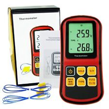 K/J/T/E/R/S/N Thermocouple Thermometer ATC Temperature Meter Tester -238~3212°F