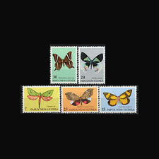 PAPUA NEW GUINEA, Sc #503-07, MNH, 1979, Moths, Insects, Cpl set, 1118