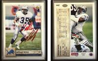 William White Signed 1992 Upper Deck #442 Card Detroit Lions Auto Autograph