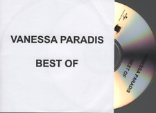 Vanessa Paradis Best Of CD SAMPLER PROMO pochette papier