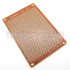 5PCS Prototype PCB 5x7cm Universal Single Side Copper Project Breadboard