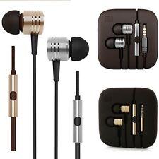 3.5mm In-ohr Stereo Headset Ohrhörer Kopfhörer mit Mikro für Mobiltelefon Tablet