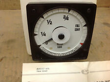 Electromagnetic Motor Load  ML-5N101 Indicator System Panel Gauge. NOS