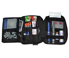 Diabetic  Deluxe Diabetic Carrying Case Organizer Black Color