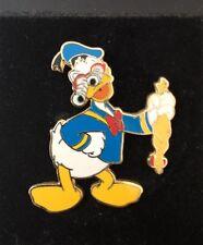 Disney Goofin' Around Donald Duck googly eyes glasses rubber chicken Pin
