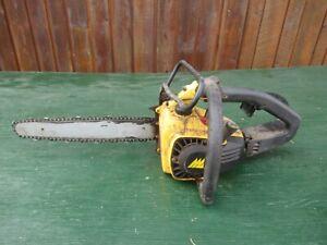 "Vintage McCULLOCH PROFESSIONAL PRO MAC 165 Chainsaw Chain Saw 14"" Bar LOG SPIKE"