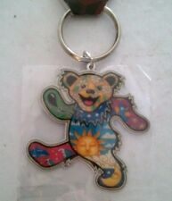 "Grateful Dead Dancing Bear 2"" Metal Key Ring #302 NEW Dan Morris Keychain ©GDP"