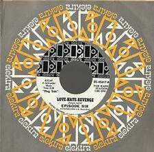 EPISODE SIX ~LOVE-HATE-REVENGE ~ 1967 ELEKTRA WLP PROMO ~ NM ~DEEP PURPLE GILLAN