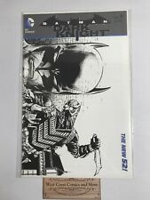 Batman The Dark Knight #9 Sketch Variant Finch B&W Dc New52 Unread Nm Nice Lee