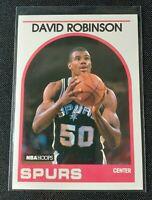 1989 NBA Hoops Basketball Card #310 David Robinson Rookie RC SA Spurs