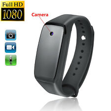 Full HD 1080P Hidden Spy Camera Black Watch Mini DV Camcorder Video Recorder Cam
