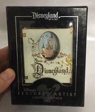 Disney Pins Disneyland Resort Featured Artist Jumbo Story Book Pin LE
