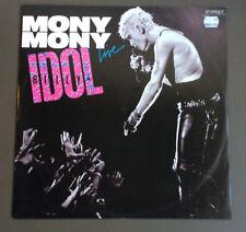 """BILLY IDOL - Mony Mony Live 12"""" Vinyl Record VG 1987 Australian Pressing LTD"""