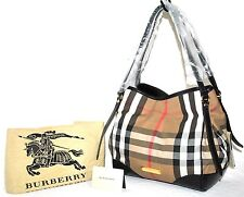 Burberry Signature Bridle House 'Canterbury Tote, New W/De II(See Condition)$895