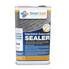 SMARTSEAL Coloured Patterned Concrete Sealer - SILK FINISH - 5 L