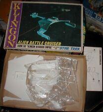 AMT Original  Model Kit, Star Trek, Klingon Alien Battle Cruiser  S952