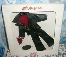 Spanish Doll Mariquita Model  Black Faux Leather Outfit *NIB