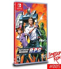 Limited Run Games Saturday Night RPG Nintendo Switch + Official Blind Box