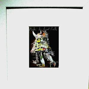 """NIKI de SAINT PHALLE """"Le  monster"""" HAND-SIGNIERT, org signed, Multiple + Rahmen"""