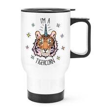 Cara De León 12oz café con leche Taza Taza-animales graciosos