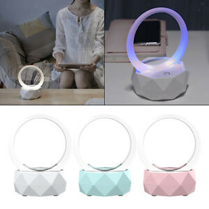Compact Bluetooth 5.0 LED Wireless Speakers Rechargeable Colorful Supplies Gift
