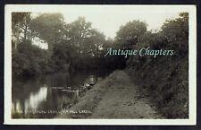 1911 Stratford Canal Hall Green Birmingham 1st Heathfield Scouts Postcard B589