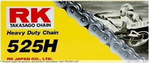 Heavy duty 110 clip link 525 non-seal drive chain / natural / carbon alloy st...