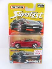 Matchbox Superfast 55l Porsche Boxster - Metallic Red - 2006 Issue - Mint/Boxed