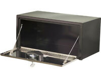 Buyers Products Black Steel Trailer Tongue Truck Box 12x13.25x26//14 Inch