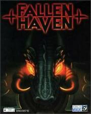 Fallen Haven + Manual PC CD space aged human outpost alien world strategy game!