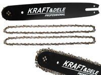 Schwert und 2 Ketten 14''/35cm  3/8 1,3 50 TG - KRAFT&DELE-  passend für Stihl