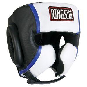 Ringside Gel MMA Kick Boxing Sparring Headgear Head Gear - Black - Medium M