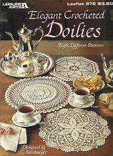 Elegant Crocheted Doilies C. Strohmeyer Crochet Patterns La 972