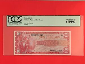 Mpc Series 661 $10 (IN MONSTER 67PPQ) FINEST KNOWN EXAMPLE !!