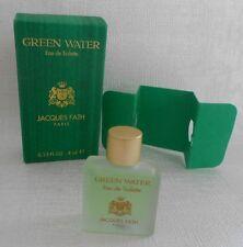 Miniature de parfum GREEN WATER de Jacques Fath EDT 4 ml