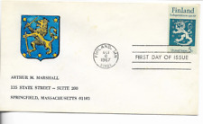 1967-First Day Cover-#1334-Finland